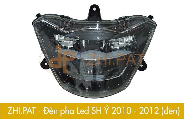 Den Pha SHY 2010 2012 Den - Đèn pha LED 2 tầng SH Ý (SH Nhập) chính hãng ZHI.PAT