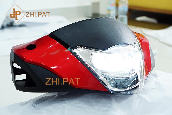 den led xe may sieu sang 2 tang led SH cao cap - Đèn pha LED 2 tầng SH Ý (SH Nhập) chính hãng ZHI.PAT