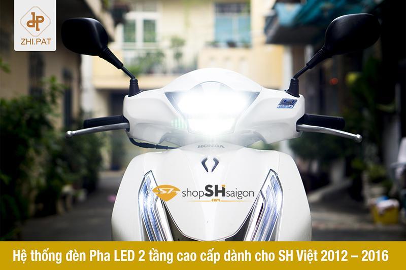 Đèn pha LED 2 tầng SH Việt chính hãng ZHI.PAT 2
