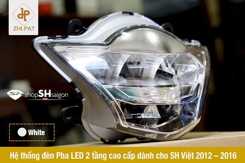 Đèn pha LED 2 tầng SH Việt chính hãng ZHI.PAT 6