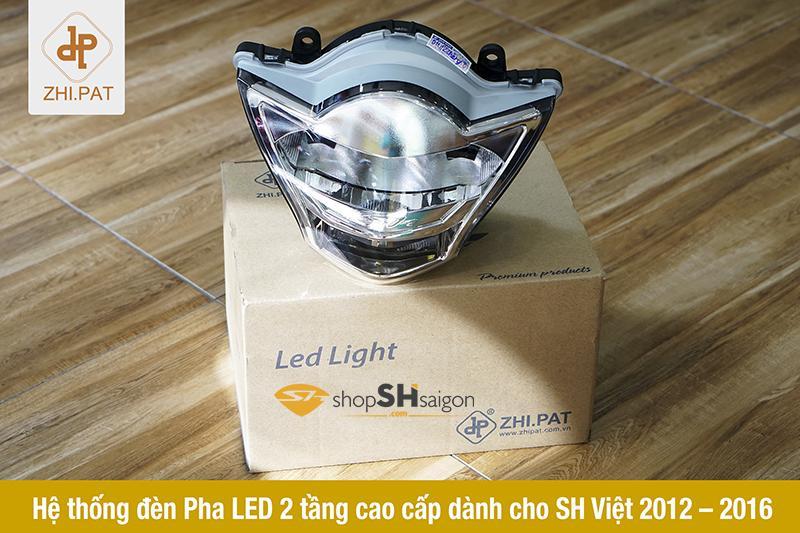 Đèn pha LED 2 tầng SH Việt chính hãng ZHI.PAT 7