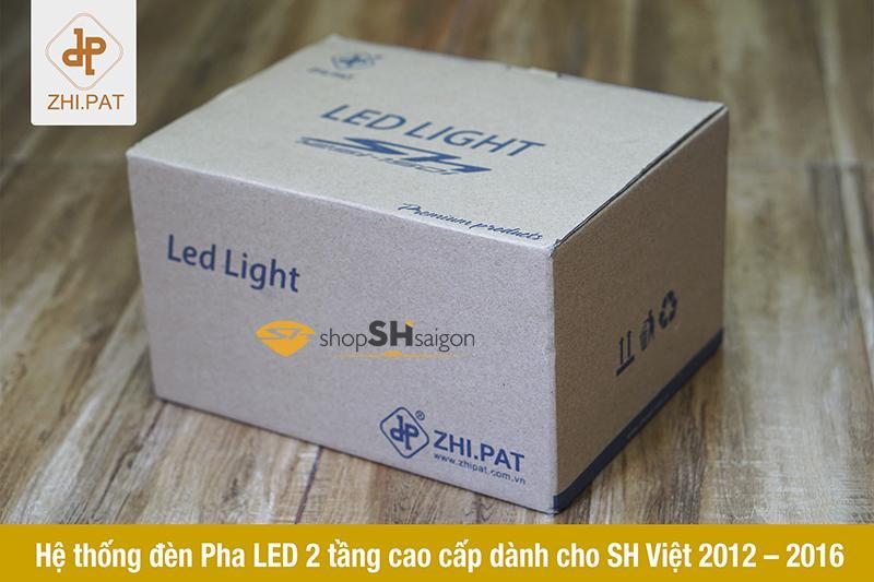 Đèn pha LED 2 tầng SH Việt chính hãng ZHI.PAT 8