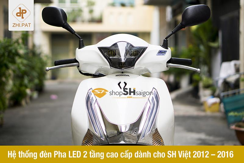 Đèn pha LED 2 tầng SH Việt chính hãng ZHI.PAT 1