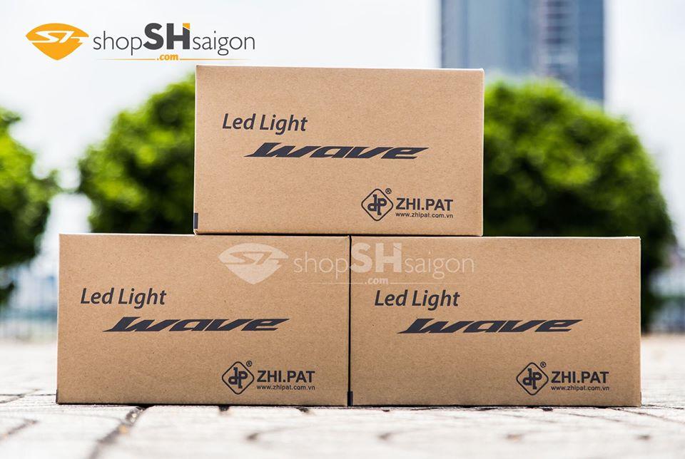 Đèn pha LED 2 tầng Wave A/S/RS/RSX/Future X chính hãng ZHI.PAT 4