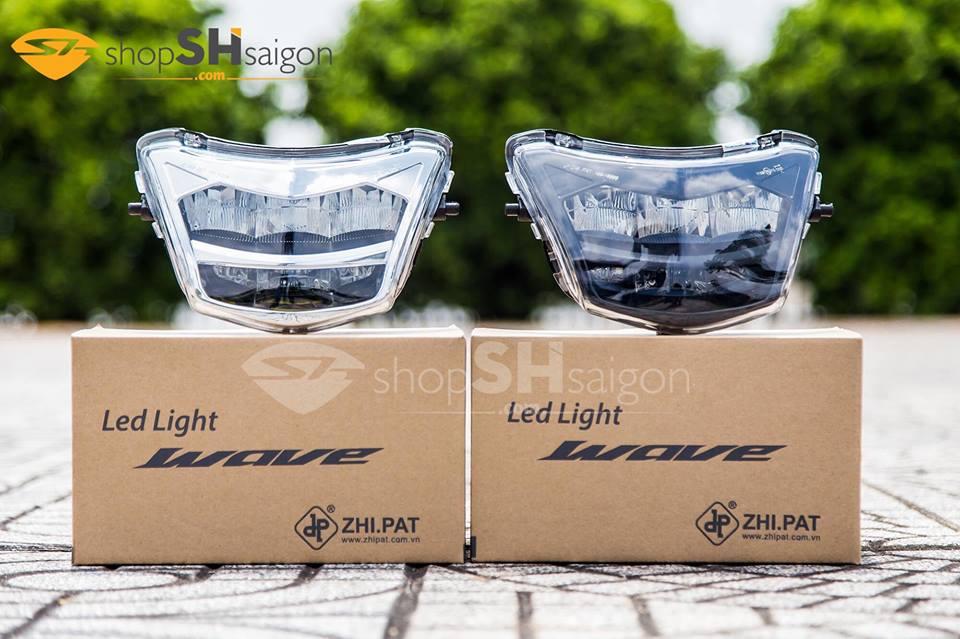 Đèn pha LED 2 tầng Wave A/S/RS/RSX/Future X chính hãng ZHI.PAT 8