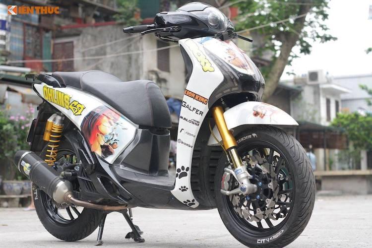 shopshsaigon.com 101201830 - Cận Cảnh Honda SH Độ Phong Cách Tại Hà Nội