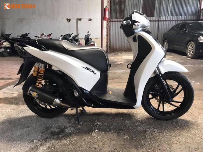 """Biker Hà Thành Độ Kiểng Honda SH """"Siêu Chất""""-shopshsaigon.com-121201870"""