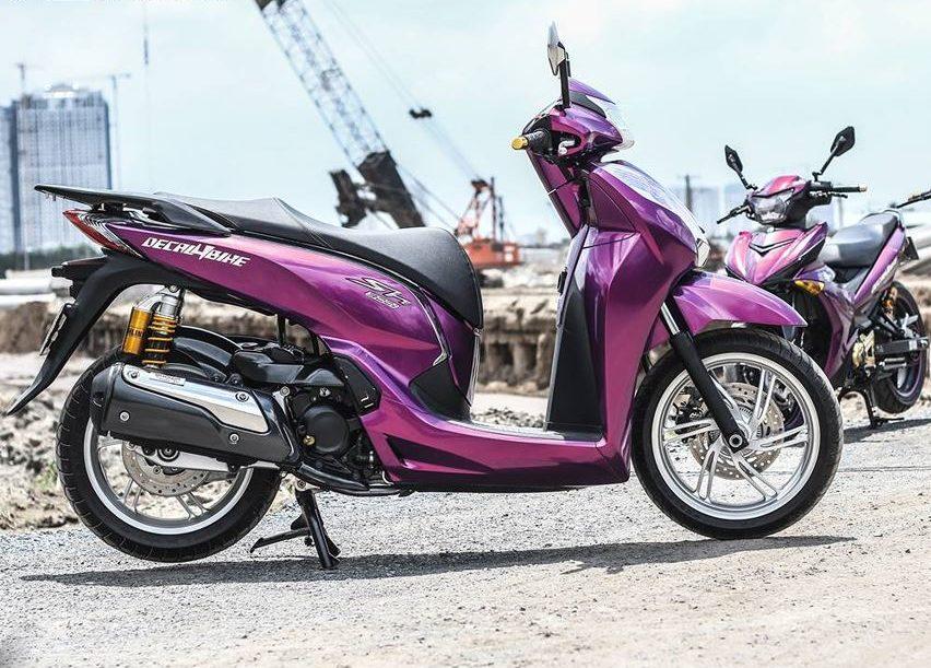 SH 300i Khoác Lên Dàn Áo Violet Candy Cùng Nhiều Đồ Chơi Đẳng Cấp