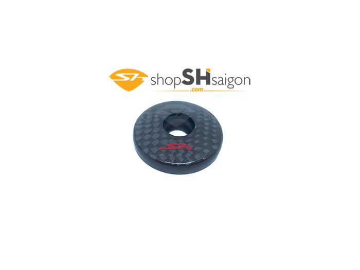 shopshsaigon.com bit guong carbon 1 - Nút Bịt Gương Carbon SH