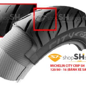 shopshsaigon.com michelin city crip 4 300x300 - Lốp Xe Sau Michelin City Grip Cho SH 120/80-16