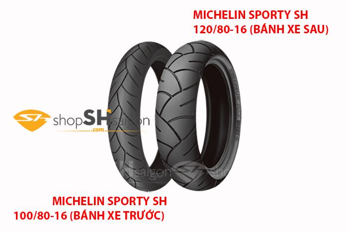 Lốp Xe Trước Michelin Pilot Sporty Cho SH 100/80-16 1