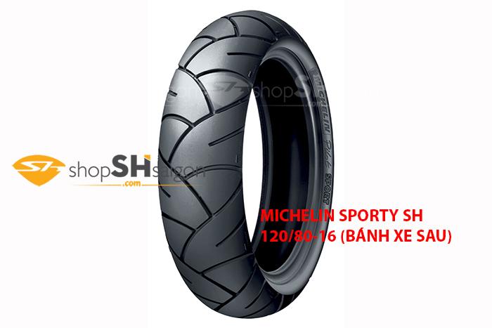 shopshsaigon.com michelin sport 2 - Lốp Xe Sau Michelin Pilot Sporty Cho SH 120/80-16