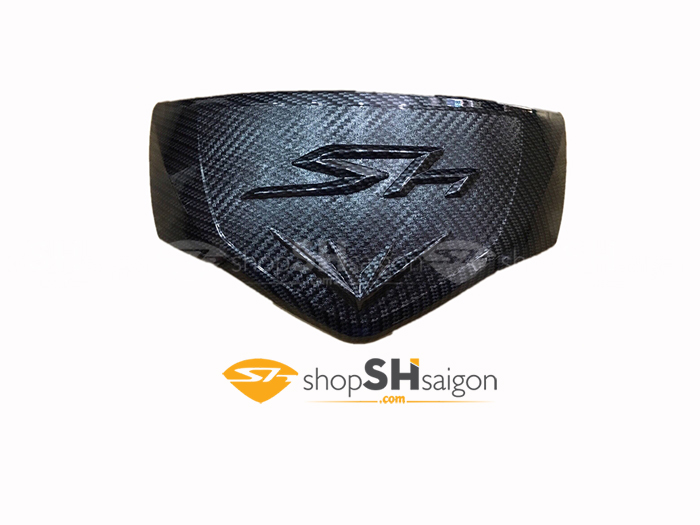 shopshsaigon.com op carbon sh 19 - Bộ Ốp Carbon Gắn Cho SHVN 2017-2018