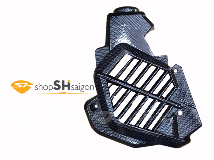 shopshsaigon.com op carbon sh 23 - Bộ Ốp Carbon Gắn Cho SHVN 2017-2018