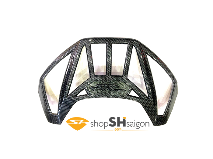 shopshsaigon.com op carbon sh 3 - Bộ Ốp Carbon Gắn Cho SHVN 2017-2018
