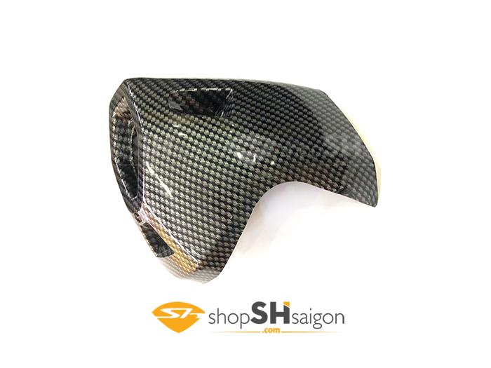 shopshsaigon.com op carbon sh 4 - Bộ Ốp Carbon Gắn Cho SHVN 2017-2018