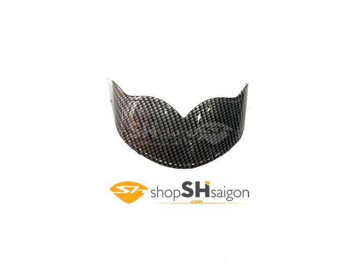 shopshsaigon.com op carbon sh 6 - Bộ Ốp Carbon Gắn Cho SHVN 2017-2018
