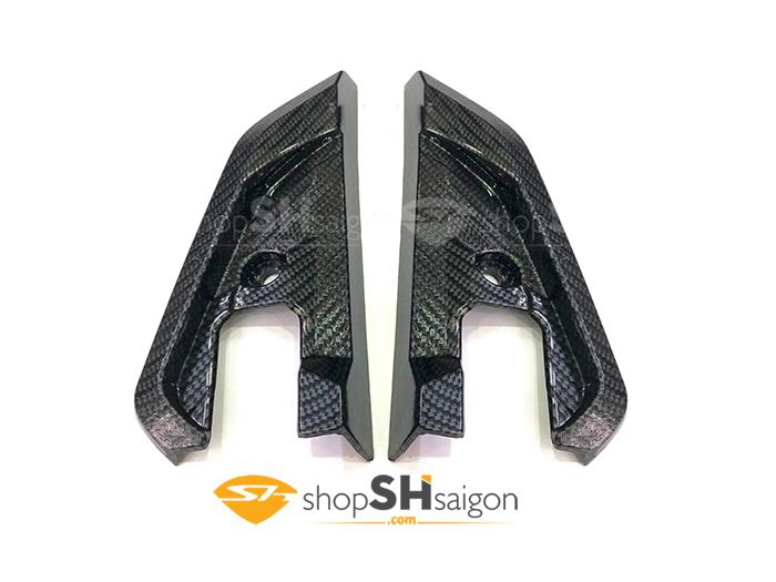 shopshsaigon.com op carbon sh 7 - Bộ Ốp Carbon Gắn Cho SHVN 2017-2018