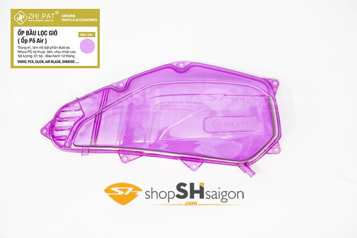 shopshsaigon.com op po e trong suot mau 7 - Ốp Pô E (Bầu Lọc Gió) Trong Suốt Màu chính hãng ZHI.PAT cao cấp