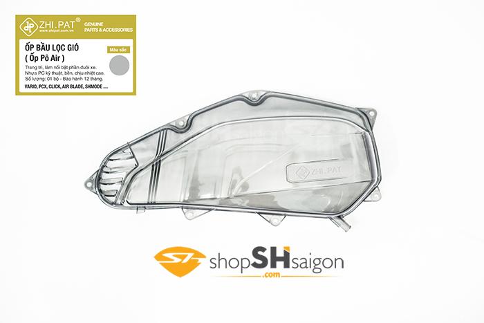 shopshsaigon.com op po e trong suot mau 8 - Ốp Pô E (Bầu Lọc Gió) Trong Suốt Màu chính hãng ZHI.PAT cao cấp