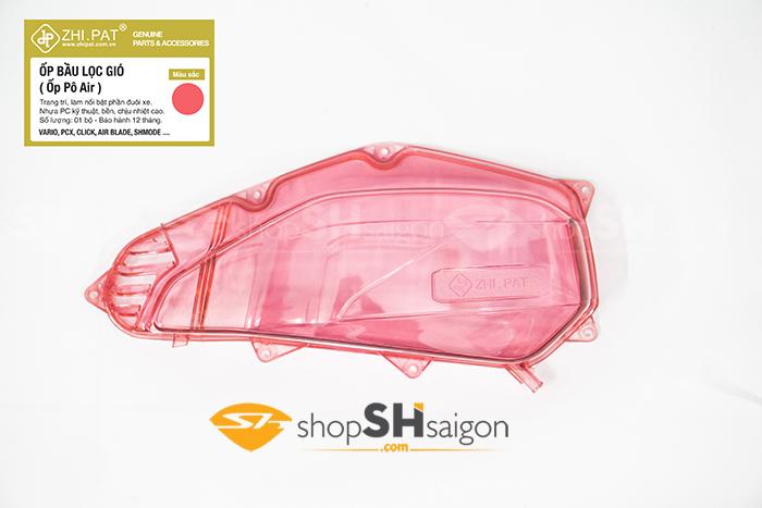 shopshsaigon.com op po e trong suot mau 9 - Ốp Pô E (Bầu Lọc Gió) Trong Suốt Màu chính hãng ZHI.PAT cao cấp