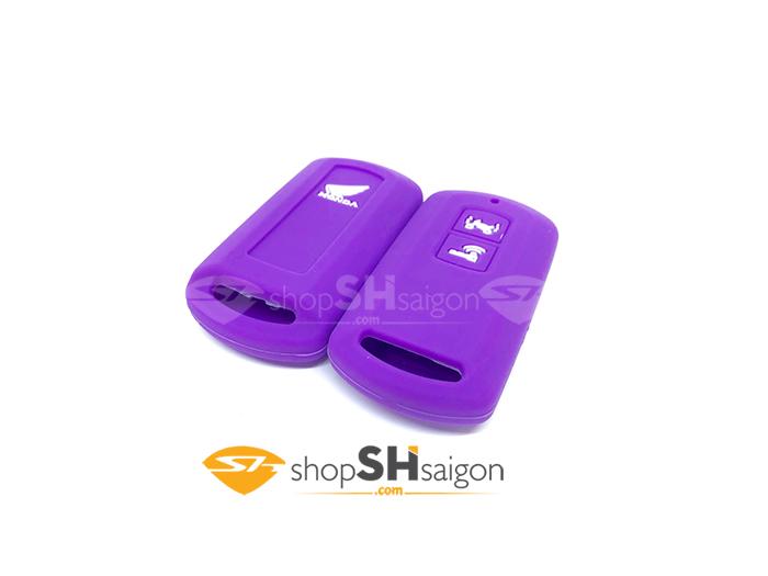 shopshsaigon.com bao silicon 2 nut 1 - Bọc Silicon bảo vệ Remote Smartkey 2 Nút