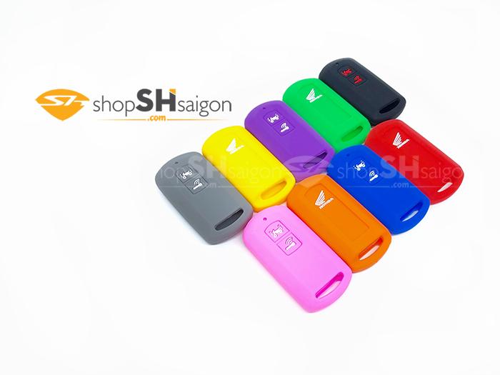 shopshsaigon.com bao silicon 2 nut 11 - Bọc Silicon bảo vệ Remote Smartkey 2 Nút