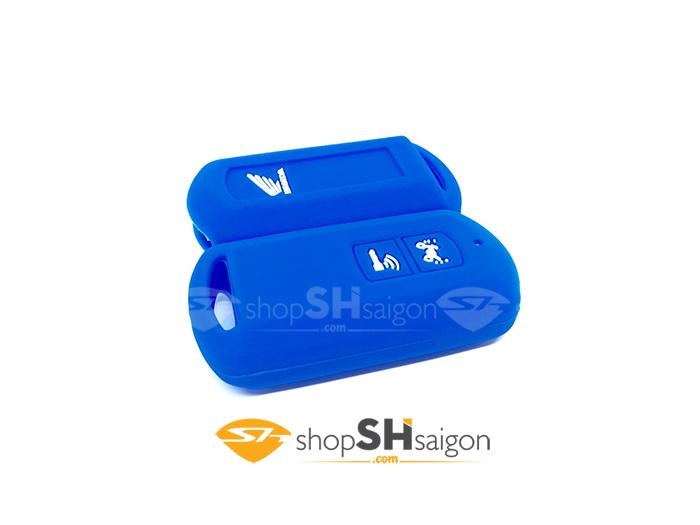 shopshsaigon.com bao silicon 2 nut 3 - Bọc Silicon bảo vệ Remote Smartkey 2 Nút