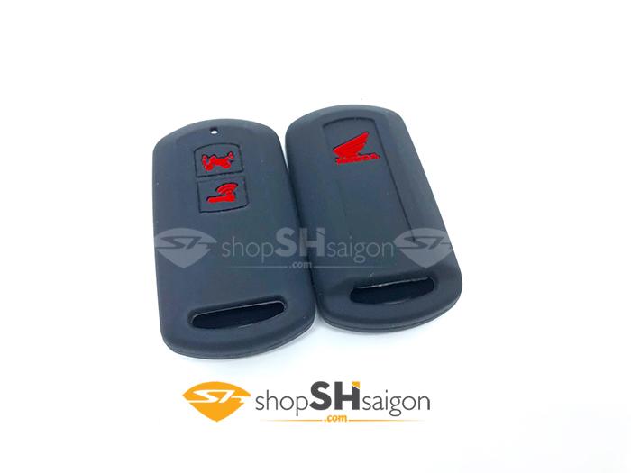 shopshsaigon.com bao silicon 2 nut 6 - Bọc Silicon bảo vệ Remote Smartkey 2 Nút