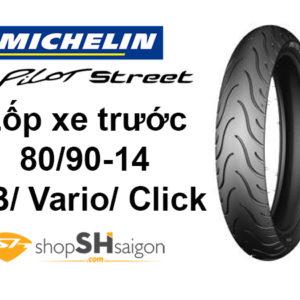 shopshsaigon.com lop xe truoc ab michelin pilot street 1 300x300 - Lốp Xe Trước Michelin Pilot Street Cho AB-Vario-Click 80/90-14