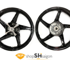 shopshsaigon.com mam 5 cay den bong 5 300x300 - Mâm 5 Cây Đen Bóng Gắn Cho SHVN 2012-2018 CBS Và ABS