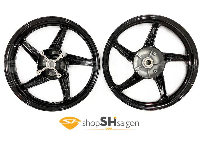 shopshsaigon.com mam 5 cay den bong 5 - Mâm 5 Cây Đen Bóng Gắn Cho SHVN 2012-2018 CBS Và ABS