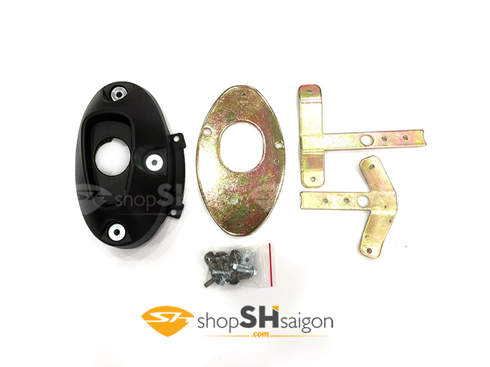 shopshsaigon.com op po 300i zhi.pat gan sh300i 1 - Ốp Pô SH 300i Zhi.Pat Gắn Cho SH 300i 2008-2017