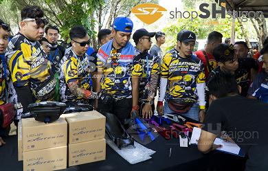 ShopShSaiGon.com Malaysia 11 - Phụ tùng chính hãng Zhipat – thương hiệu đến từ Việt Nam, duy nhất xuất hiện trong ngày hội của các Biker khu vực Đông Nam á.