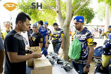 ShopShSaiGon.com Malaysia 4 - Phụ tùng chính hãng Zhipat – thương hiệu đến từ Việt Nam, duy nhất xuất hiện trong ngày hội của các Biker khu vực Đông Nam á.