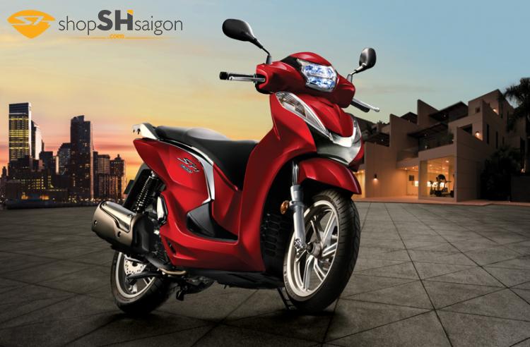 Shopshsaigon 3 - Biến SHVN thành Sh300i đẹp rực rỡ giữa Sài Gòn.