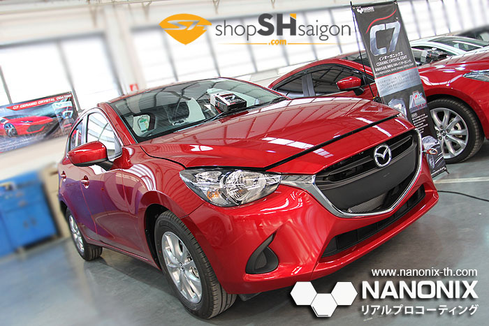 shopshsaigon.com nanonix c7 4 - Nano Coating bảo vệ xe cao cấp Nanonix 7SHIELD - Nhật Bản