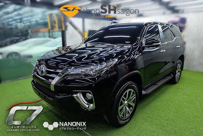 shopshsaigon.com nanonix c7 - Nano Coating bảo vệ xe cao cấp Nanonix 7SHIELD - Nhật Bản
