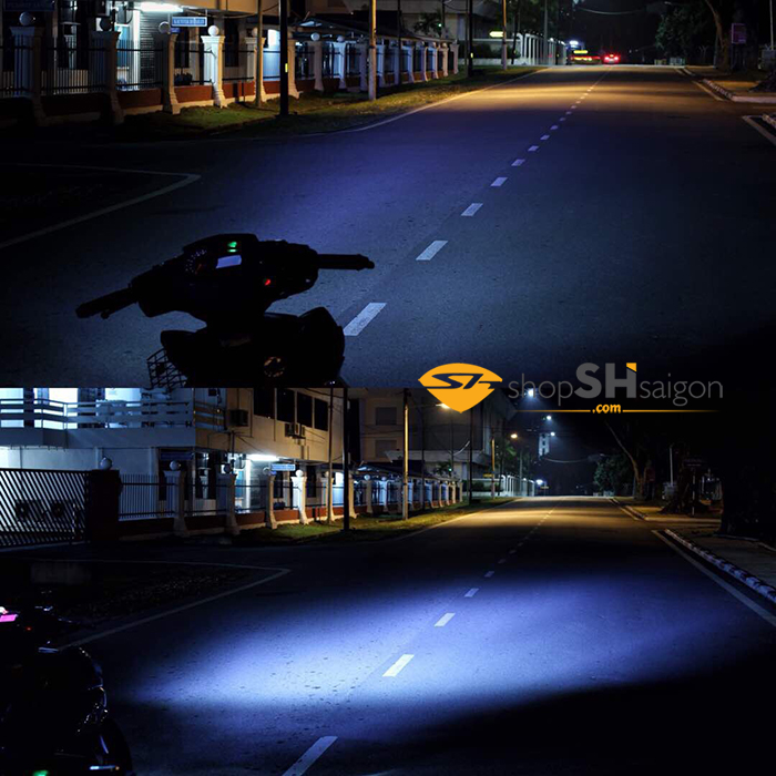 shopshsaigon.com led headlamp ex150 2 - Đèn Led 2 tầng EXCITER 150 2019 - Led Headlamp Sporty for EXCITER 150