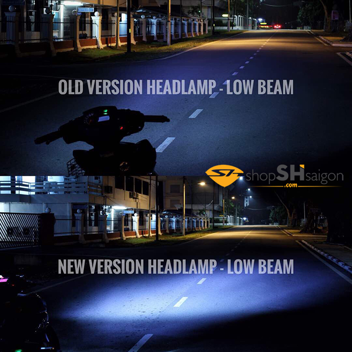 shopshsaigon.com led headlamp ex150 4 - Đèn Led 2 tầng EXCITER 150 2019 - Led Headlamp Sporty for EXCITER 150