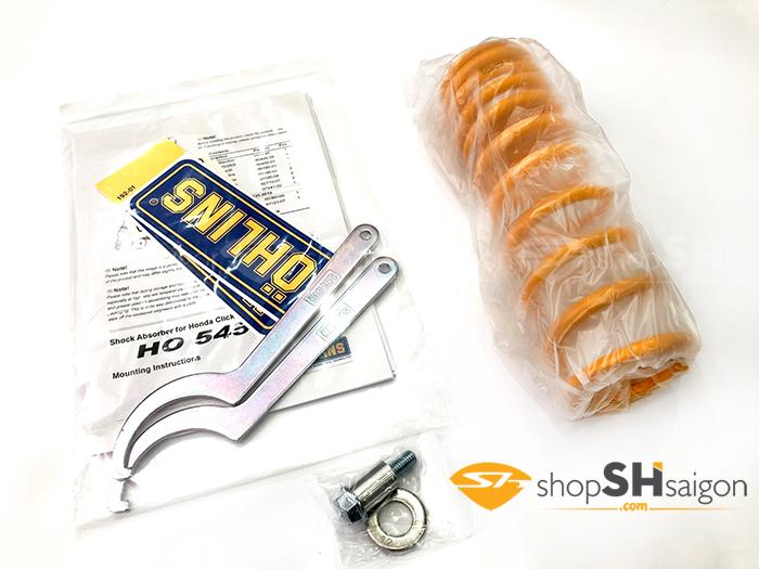 shopshsaigon.com phuoc ohlins vario ho545 1 - Phuộc OHLINS Vario/Click/SHmode HO 545 Chính Hãng