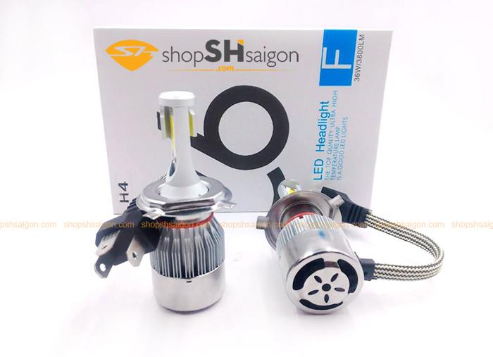 shopshsaigon.com led c6 1 - Đèn Led Headlight C6 Siêu Sáng