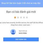 Cạnh tranh không lành mạnh Đánh giá Ảo để hạ thấp uy tín Shop Sh Sài Gòn 4