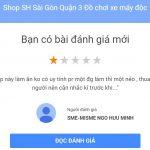 Cạnh tranh không lành mạnh Đánh giá Ảo để hạ thấp uy tín Shop Sh Sài Gòn 5