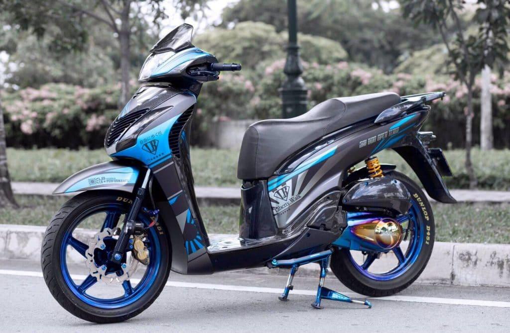 Honda SH Ý 150i của biker Sài Gòn thuộc Sai Gon Open Team