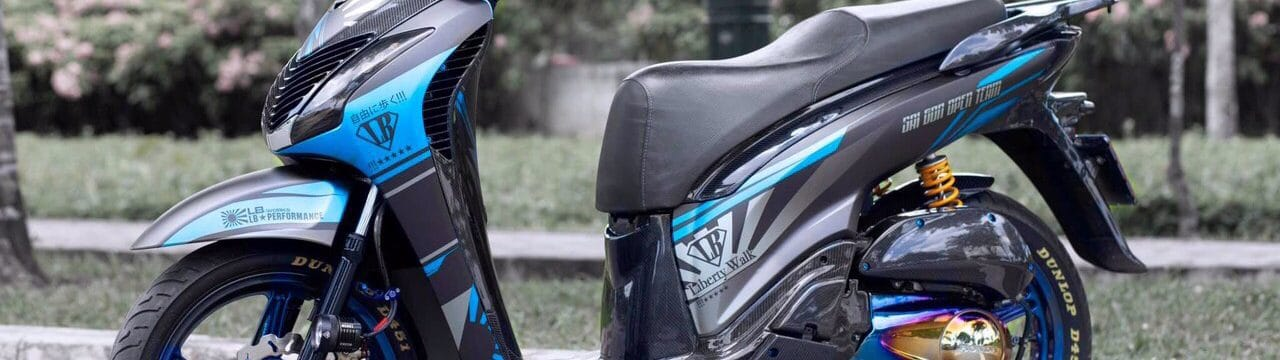 """Honda SH Ý độ siêu """"KHỦNG"""" gần 100 triệu của HOTBOY Sài Thành. 1"""