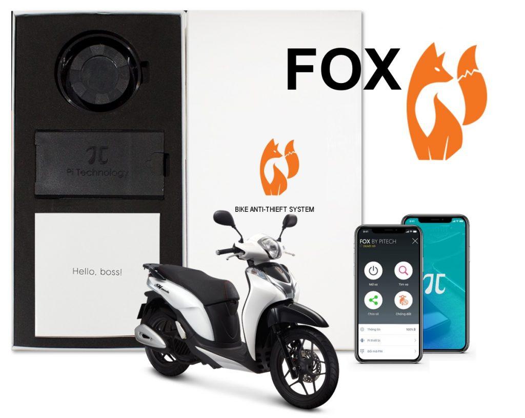 Khóa chống trộm tự động nhận dạng Fox, được phát triển bởi công ty Startup Công nghệ PITECH VIỆT NAM