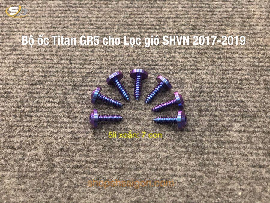 Bộ ốc Titan gắn cho lọc gió SHVN 2017-2019 1