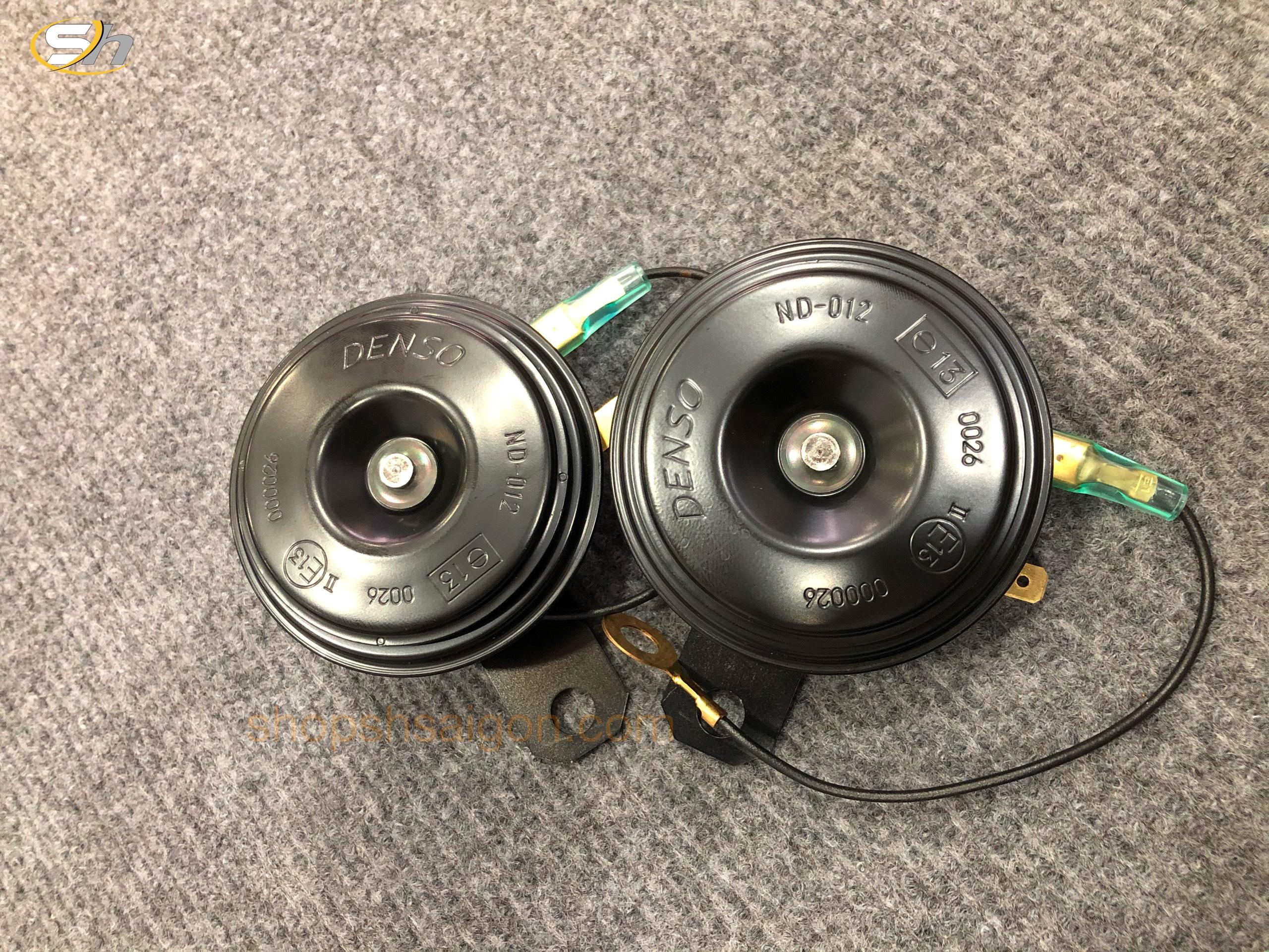 Bộ kèn đôi xe máy Denso - JK272000-6920 (12V) 3