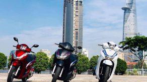 Bộ kit nâng đời Honda SH125/150i thành Honda SH300i tại Việt Nam 3